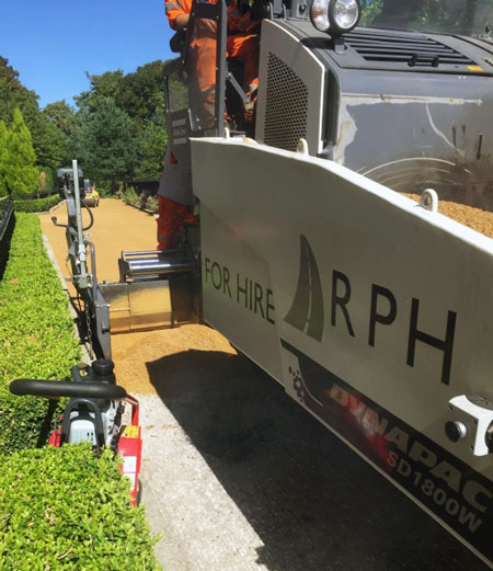 RPH Surfacing Paver and Plant Hire Experts